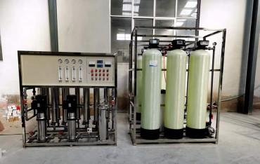 1.5吨双级纯净水设备